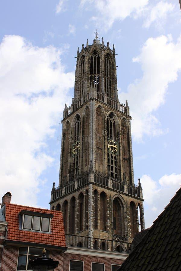 Башня Dom, Utrecht стоковое изображение