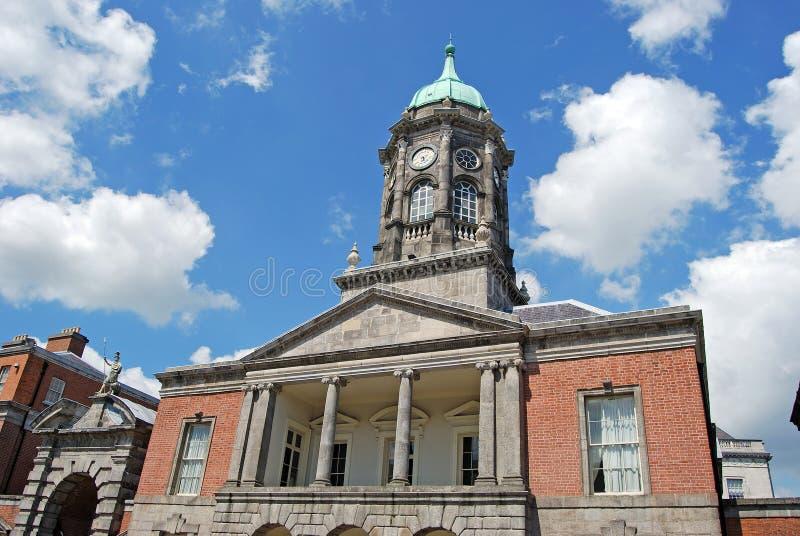 башня dublin замока bedford стоковые изображения rf
