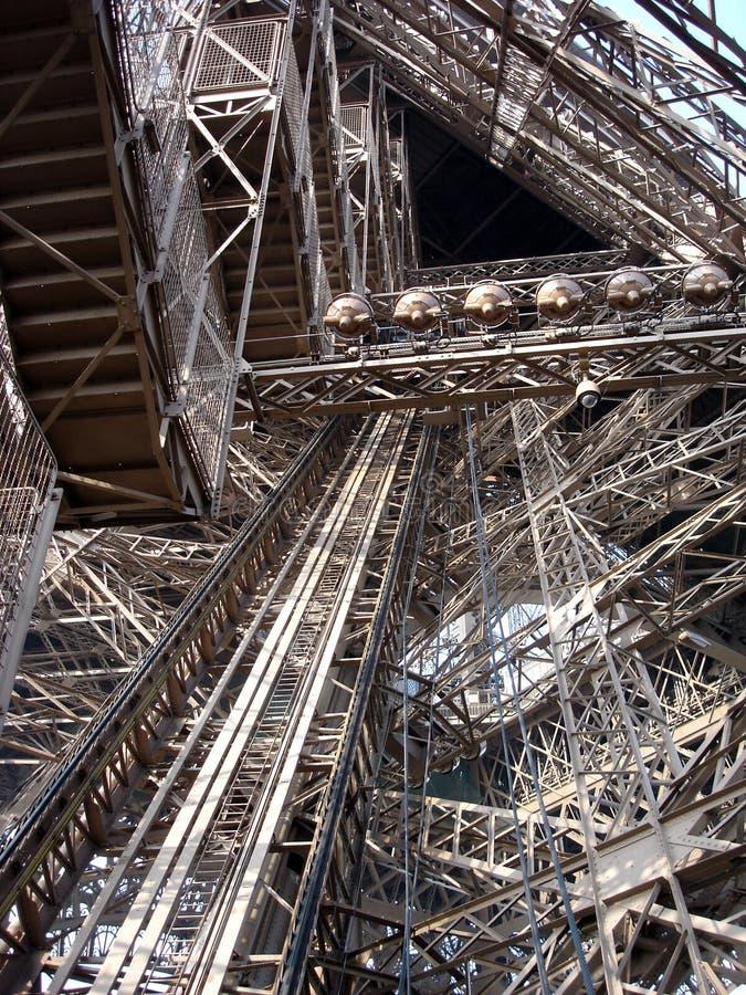 башня eiffel Франции paris детали стоковые изображения rf