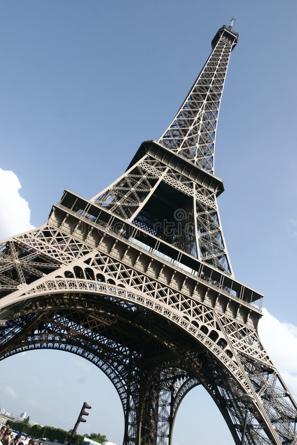 башня eiffel paris стоковое фото