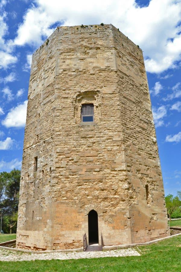 башня enna шестиугольная стоковое изображение rf
