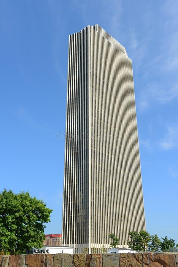 Башня Erastus Corning, Albany, NY, США стоковое фото rf
