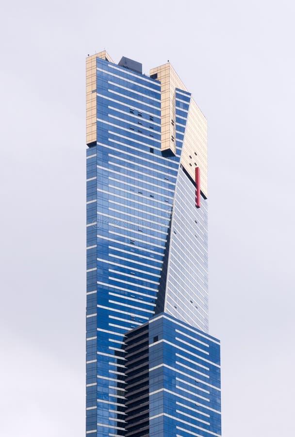 башня eureka melbourne стоковая фотография