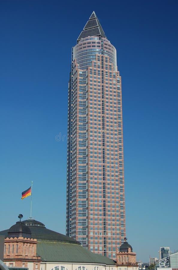 башня frankfurt стоковое фото