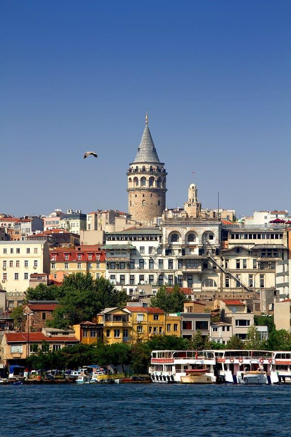 башня Galata Стоковое Фото