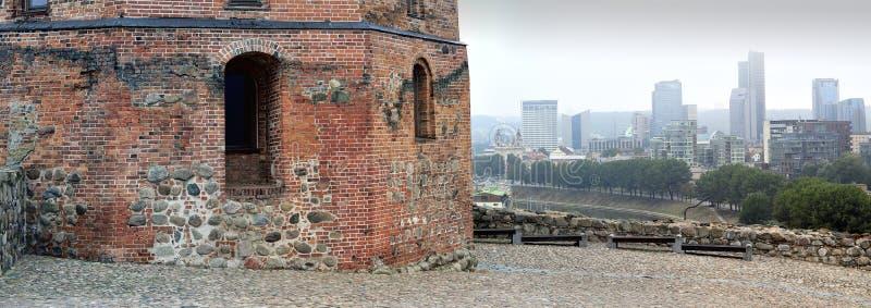 Башня Gediminas стоковые изображения