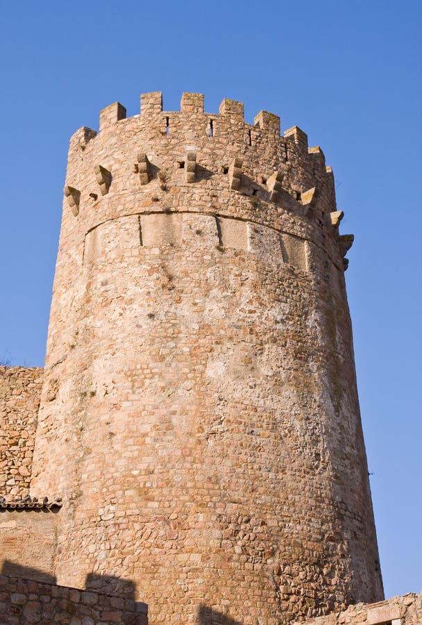 башня girona стоковые изображения rf