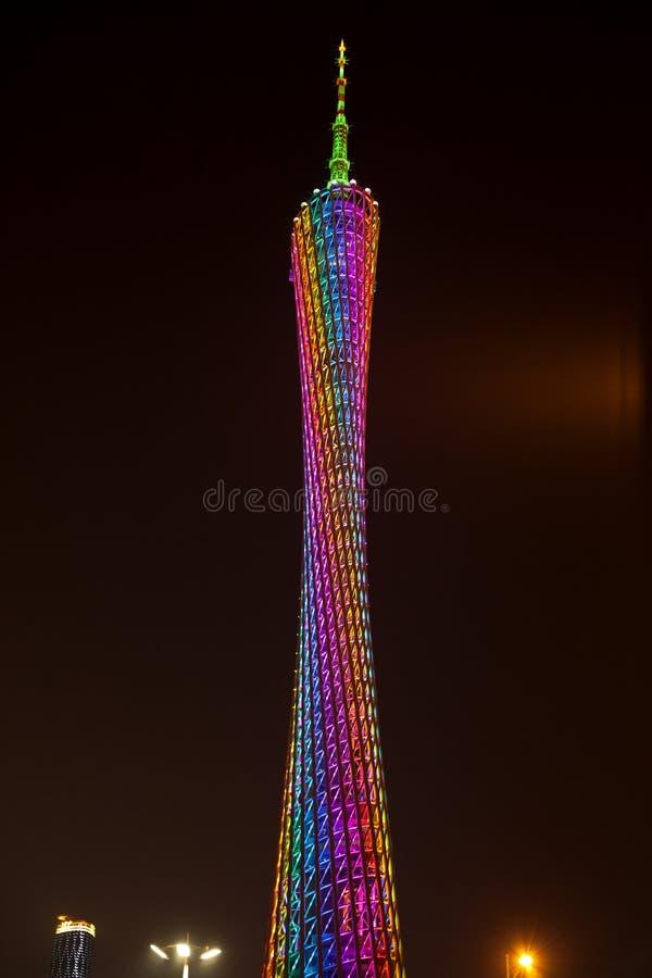 башня guangzhou стоковое фото
