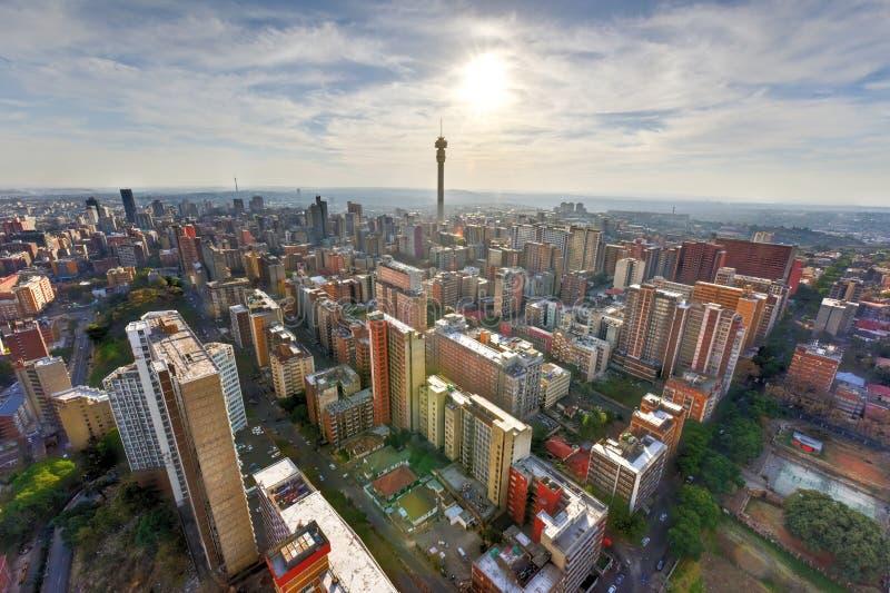 Башня Hillbrow - Йоханнесбург, Южная Африка стоковые изображения rf
