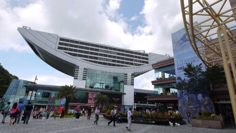 башня Hong Kong пиковая стоковое изображение