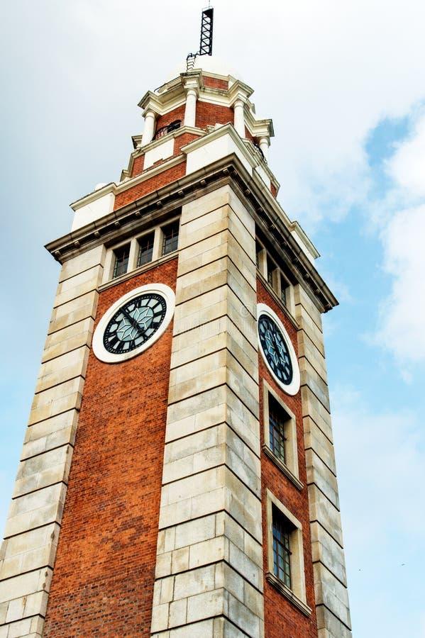 башня Hong Kong часов стоковые фото