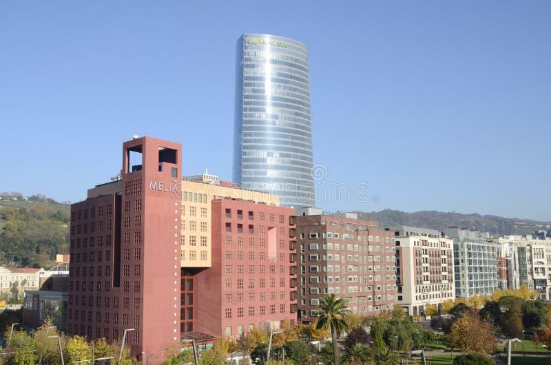 Башня Iberdrola стоковое изображение rf