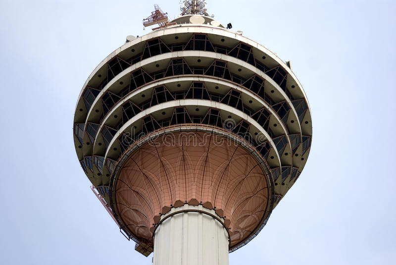 Башня KL, Куала-Лумпур, Малайзия стоковая фотография