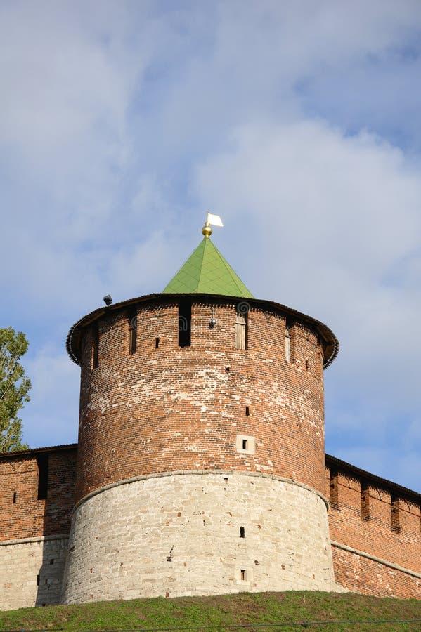 башня kremlin стоковое фото