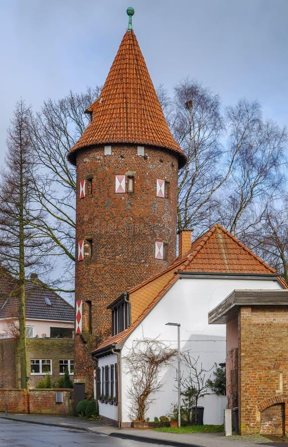 Башня Kuhmturm, Borken, Германия стоковые изображения rf