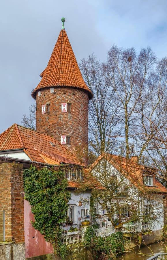 Башня Kuhmturm, Borken, Германия стоковая фотография