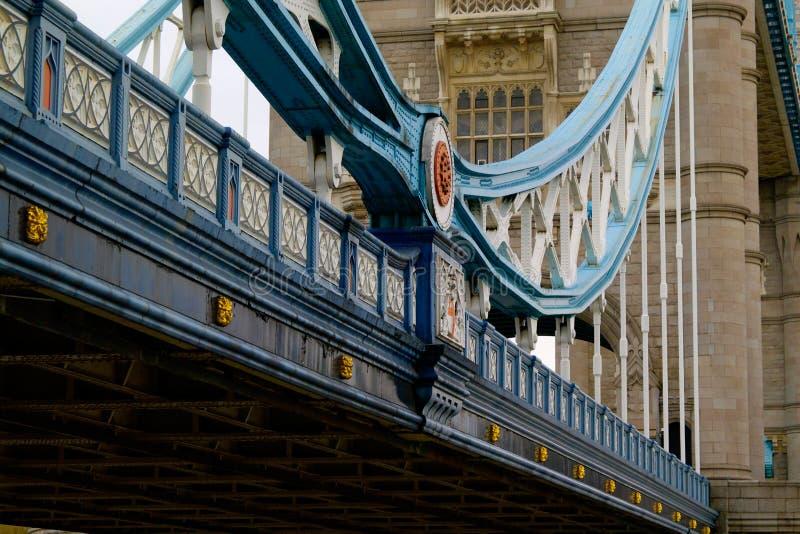 башня london моста необыкновенная стоковые изображения rf