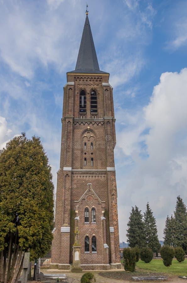 Башня Martinus в центре Gennep стоковое изображение rf