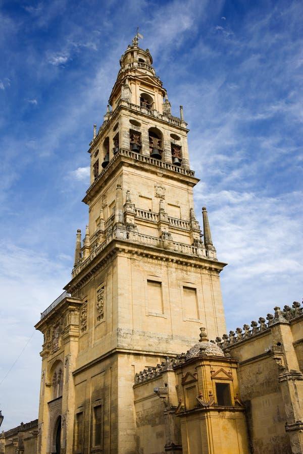 башня mezquita колокола стоковая фотография