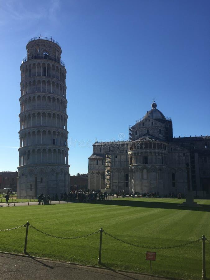 башня pisa стоковое фото rf