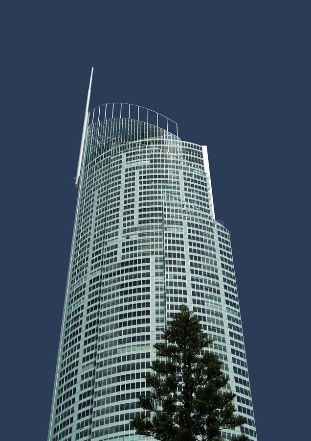 башня q1 стоковое изображение rf