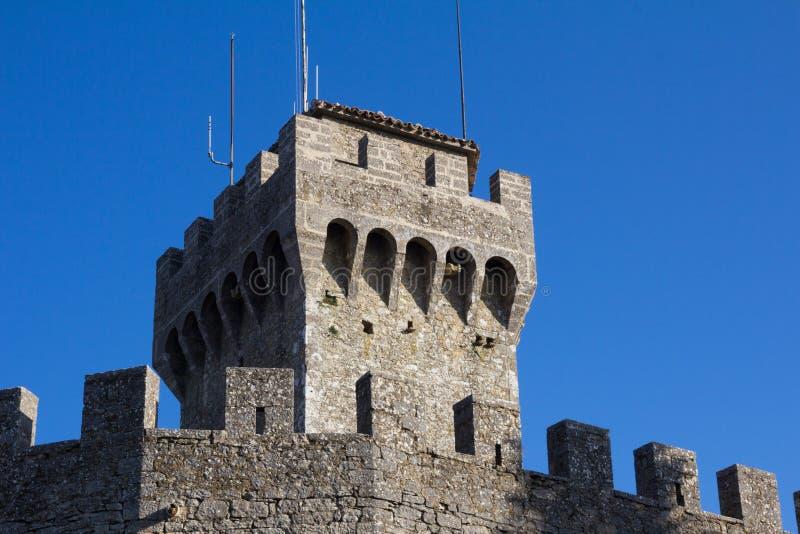 башня san marino стоковое фото rf