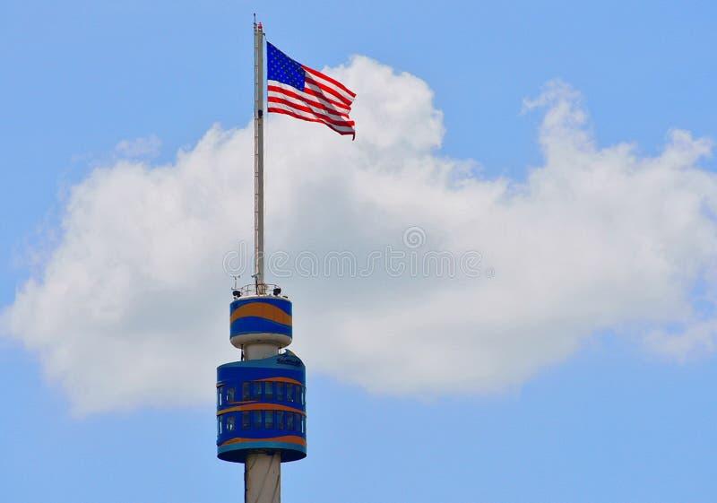 Башня Seaworld в SeaWorld Орландо Флориде США стоковые фото