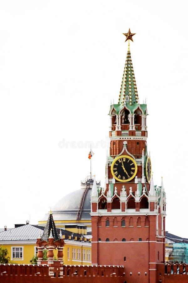 башня spasskaya стоковое фото