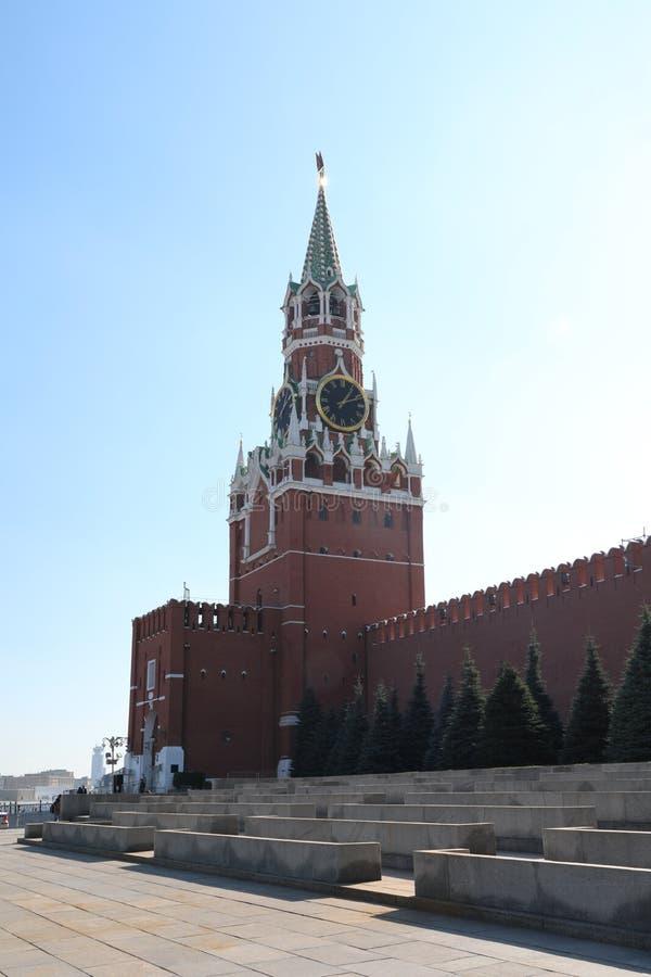 башня spasskaya kazan kremlin стоковая фотография