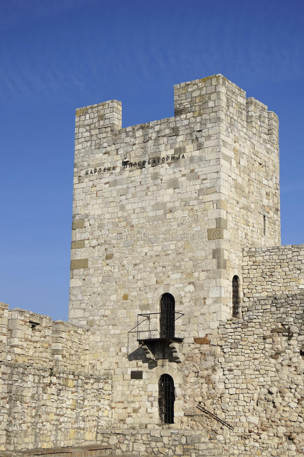 Башня Stefan деспота стоковая фотография
