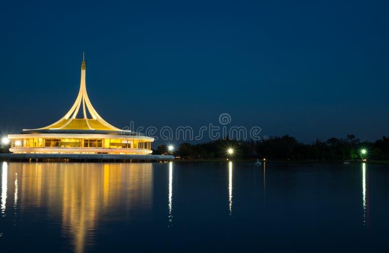 Башня Suanlung Rama 9 Таиланд Ratchamongkol, 24-ое декабря 2016 это стоковое фото