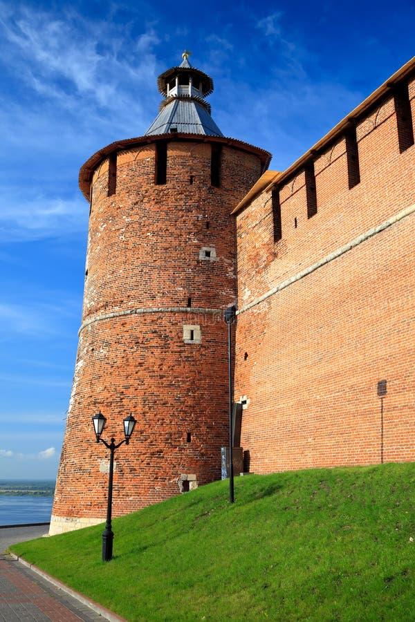 башня tainitzkaya novgorod kremlin nizhny стоковая фотография rf
