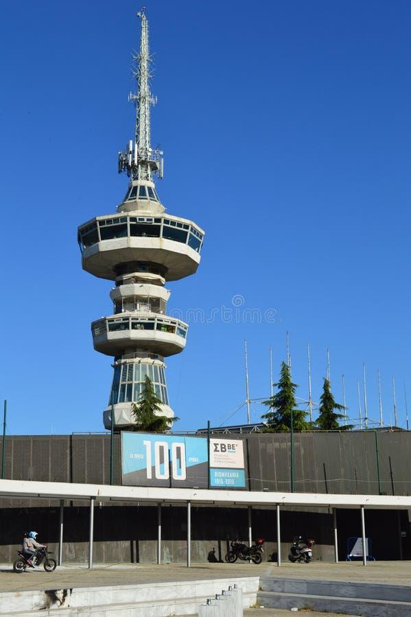 башня thessaloniki ote стоковое фото rf