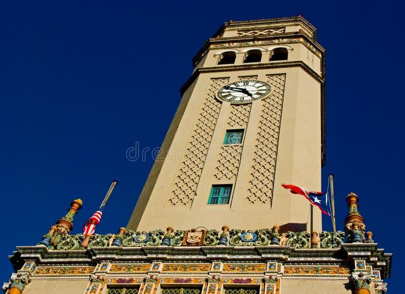 башня tuscan типа часов стоковые фото