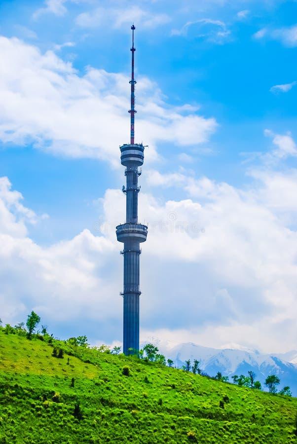 Башня TV, Алма-Ата, Казахстан стоковое фото