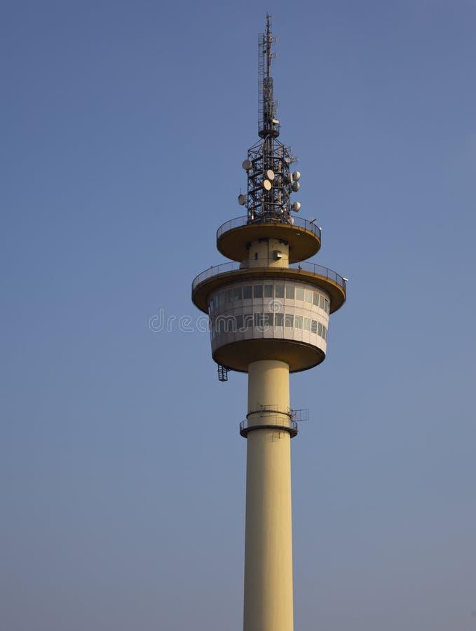 башня tv стоковая фотография