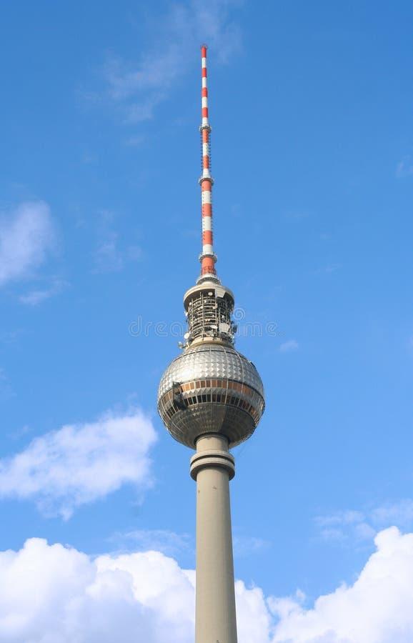башня tv berlin стоковая фотография rf