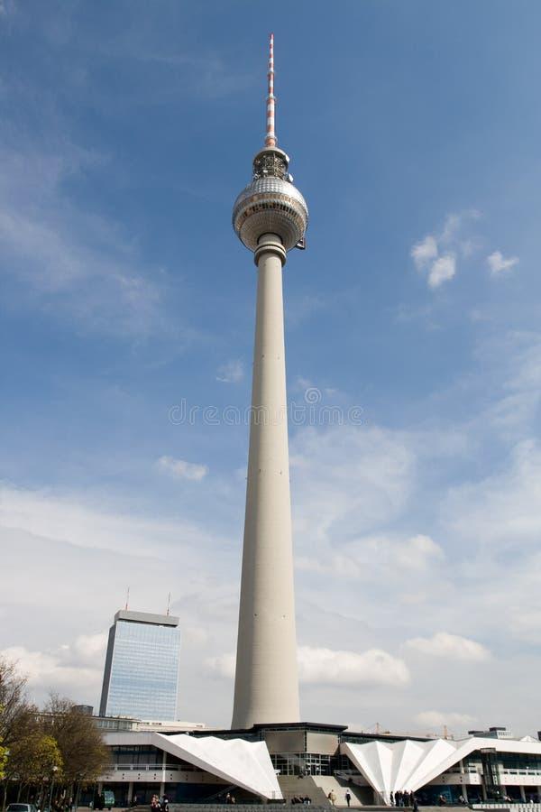 башня tv berlin стоковые фото