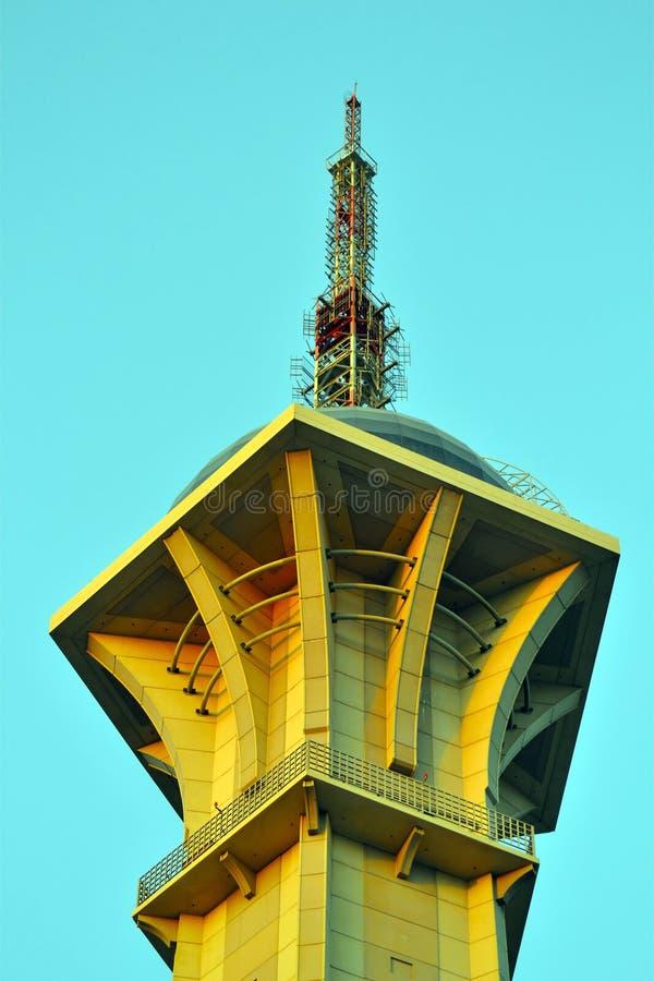 башня tv jeddah saudi стоковые изображения rf