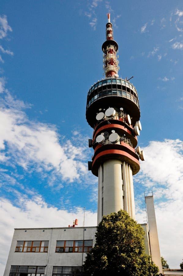 башня tv pecs misina Венгрии стоковое изображение rf