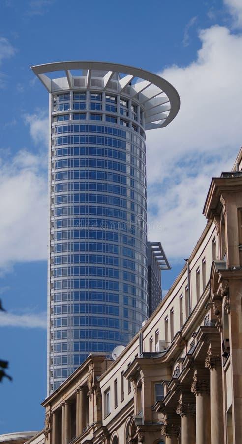 Башня Westend в Франкфурте стоковое фото rf
