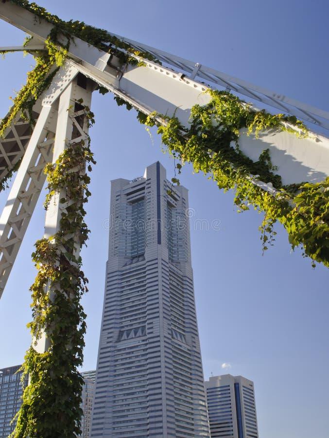 башня yokohama наземного ориентира стоковая фотография rf