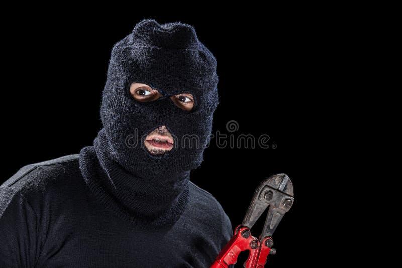 Балаклава и ножницы стоковая фотография rf