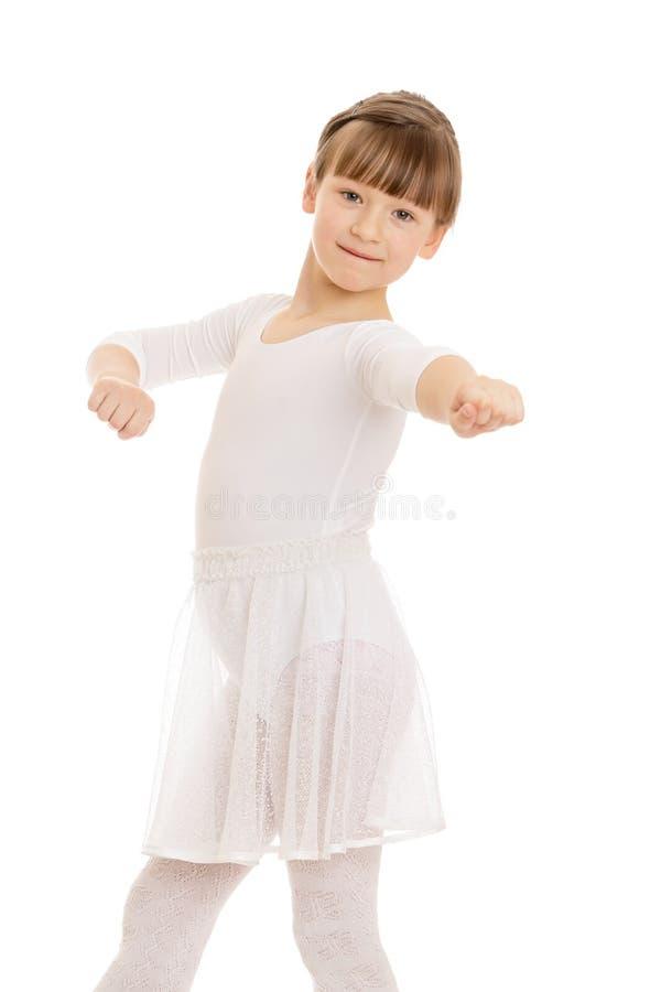 Балерина девушки стоковая фотография