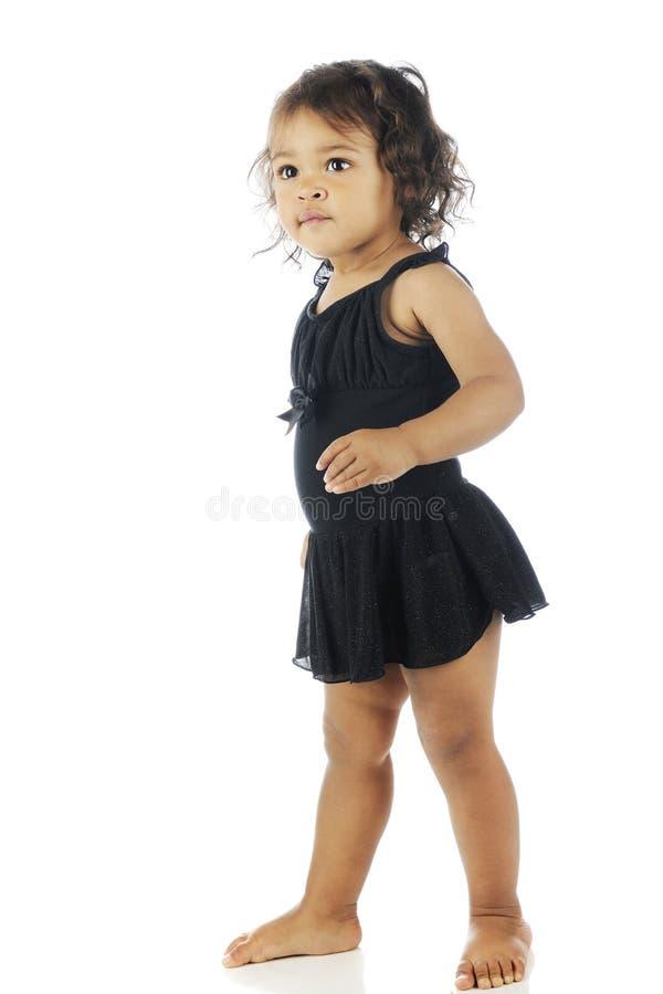 Балерина малыша стоковое изображение rf