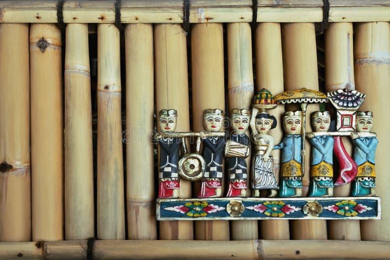 Балийские диаграммы людей стоковая фотография