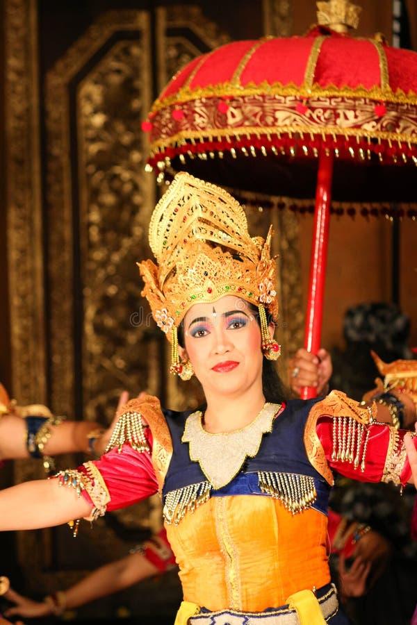Балийские танцоры стоковая фотография rf