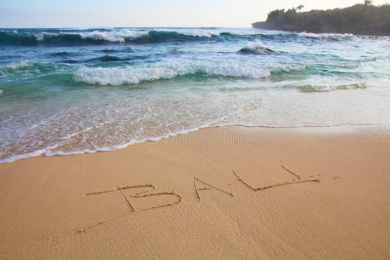 Бали на пляже стоковые фото