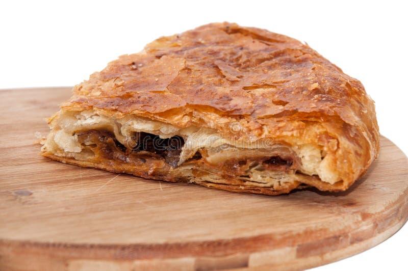 Балканское burek с мясом и сыром стоковые фотографии rf