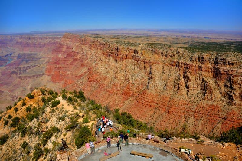 бдительность каньона грандиозная стоковое фото